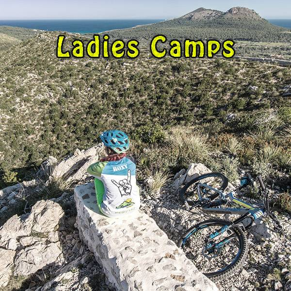Frauen Events für Ladies auf dem Mountainbike - Roxys Women Camps