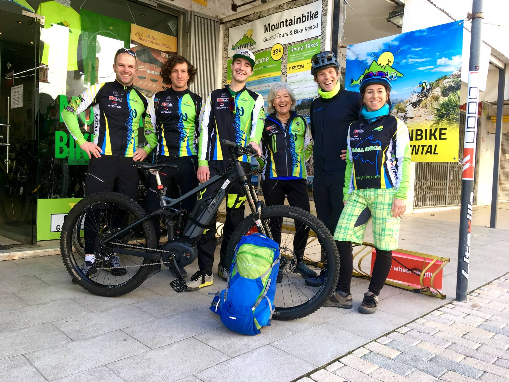 Dein MTB-Bike Team bei CaMi-Bike in Cala Millor